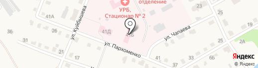 Тульский областной противотуберкулезный диспансер №1 на карте Дубовки