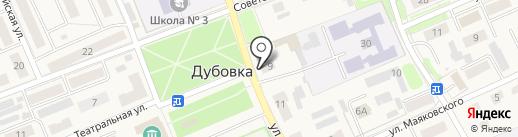 Фармация на карте Дубовки