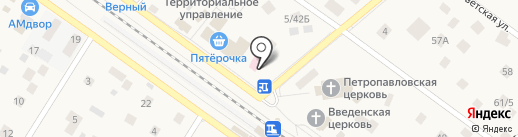 Оптик Транс на карте Ильинского