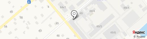 Магазин автозапчастей на карте Ильинского