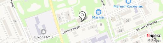 Дубовка на карте Дубовки