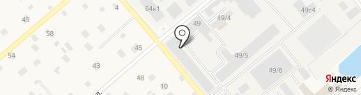 Тротуарчик на карте Ильинского