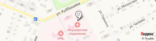Родильный дом на карте Дубовки