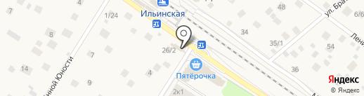 Федеральная служба по ветеринарному и фитосанитарному надзору РФ на карте Ильинского