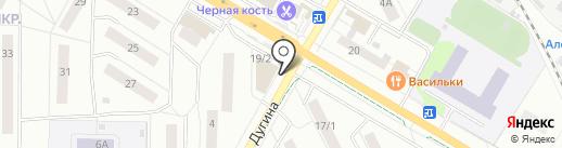 Сапфир на карте Жуковского