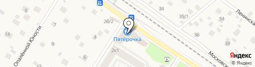 А-мега на карте Ильинского