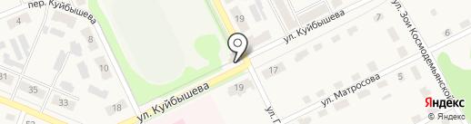 Никси на карте Дубовки