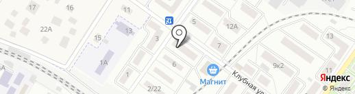 Агнора на карте Жуковского