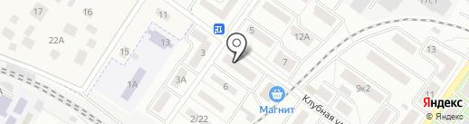 Южный двор на карте Жуковского