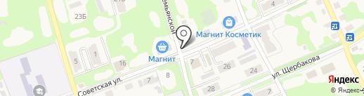 Синица на карте Дубовки