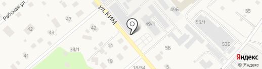Торгово-производственная фирма на карте Ильинского