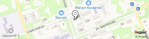 Магазин бытовой химии и хозяйственных товаров на карте Дубовки