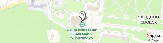 Фотостиль на карте Звёздного городка