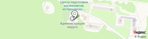 Участковый пункт полиции на карте Звёздного городка