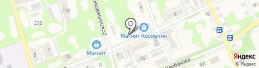 Астра на карте Дубовки