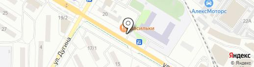 Лакомка на карте Жуковского