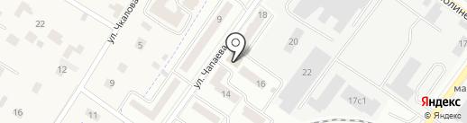 Ларец самоцветов на карте Жуковского