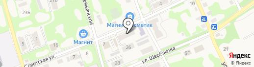 Аптечный пункт на карте Дубовки