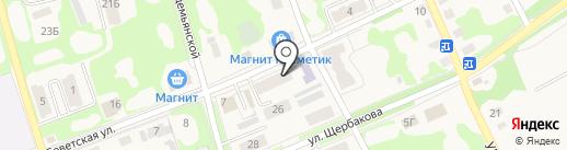 Моссельпром на карте Дубовки