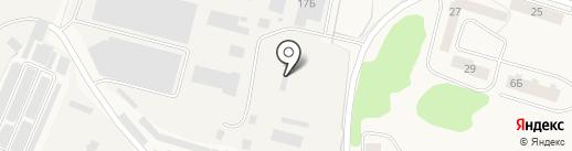 Ригонн на карте Биокомбината