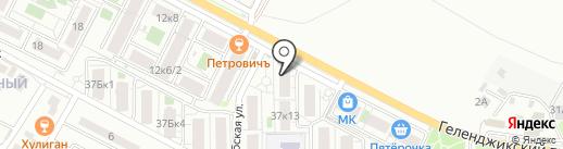 Marcipan на карте Геленджика