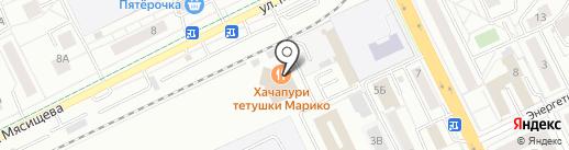 ЮЛ-Стрит на карте Жуковского