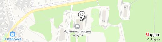 Администрация городского округа Звездный городок на карте Звёздного городка