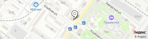 Герц на карте Жуковского
