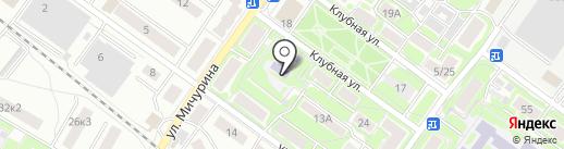 Детский сад №7 на карте Жуковского