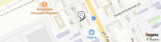Почтовое отделение №140187 на карте Жуковского