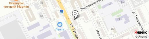 Библиотека №7 на карте Жуковского