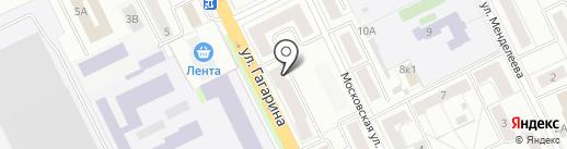 Глори на карте Жуковского