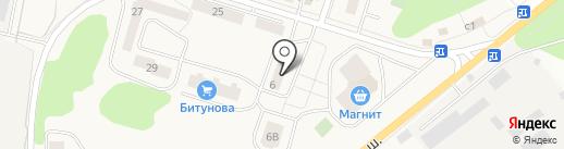 Парикмахерская на карте Биокомбината