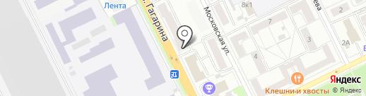Фирма Строникс на карте Жуковского