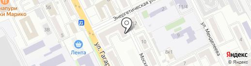 Ролс на карте Жуковского