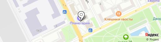 Верный на карте Жуковского