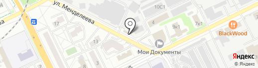 Магазин табачной продукции на карте Жуковского