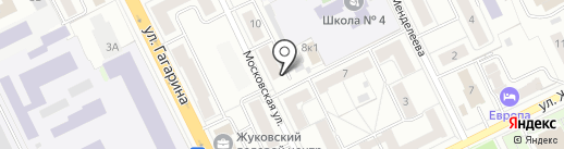 Московский областной центр дезинфекции на карте Жуковского