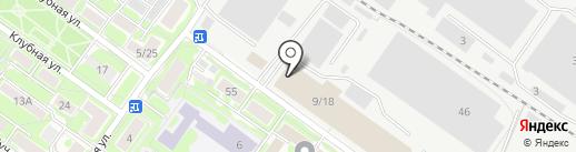 Белая Рысь на карте Жуковского