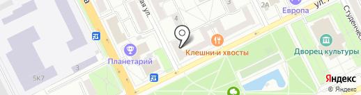 Жуковское бюро путешествий и экскурсий на карте Жуковского