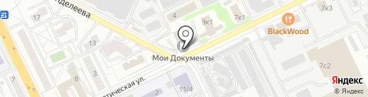 Мосэнергосбыт на карте Жуковского
