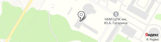 Научно-исследовательский Испытательный Центр Подготовки Космонавтов им. Ю.А. Гагарина на карте Звёздного городка
