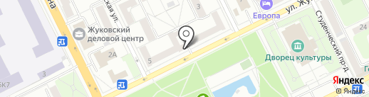 5 дом на карте Жуковского