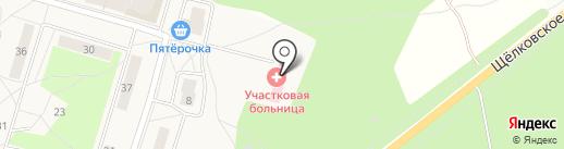 Участковая поликлиника на карте Биокомбината