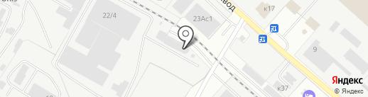 ЦЕНТРУС на карте Жуковского