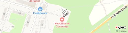 Мособлмедсервис, ГБУ на карте Биокомбината