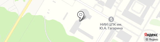 Банкомат, Фондсервисбанк на карте Звёздного городка