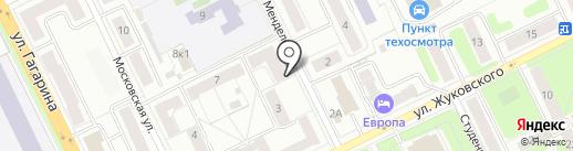 Здоровое поколение на карте Жуковского