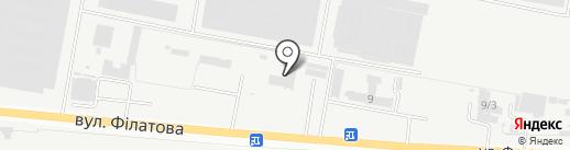 Силур, ЧАО, производственное объединение на карте Харцызска