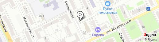 Магазин продуктов на карте Жуковского